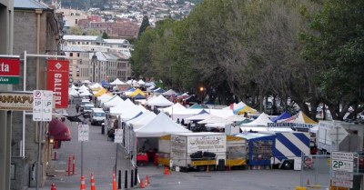 Salamanca Market, Tasmania. d.traveller on Flickr